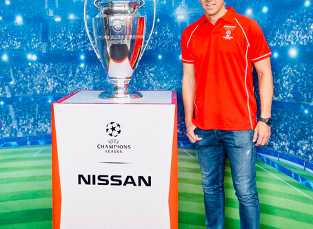 NISSAN VALENCIA THE UEFA CHAMPIONS LEAGUE TROPHY
