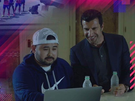 FIGO, THE LATEST FOOTBALL SUPERSTAR TO MAKE SPECIAL APPEARANCE ON JDT VIDEOS