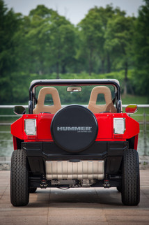 MEV™ HUMMER HX-T™ Flat Red - Rear View 2