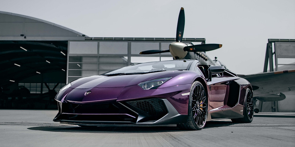 Lamborghini Owners Invitation - SF the Runway