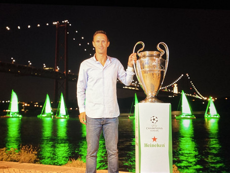 HEINEKEN 'PAINTED' PORTUGAL GREEN TO LAUNCH THE UEFA CHAMPIONS LEAGUE ACTION IN LISBON