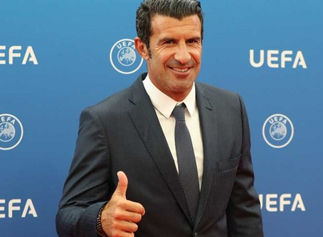 JOSE MOURINHO, LUIS FIGO FEATURE ON TIME SPORTS CHANNEL