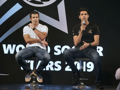 KAKA AND FIGO IN PAKISTAN TO LAUNCH WORLD SOCCER STARS EVENT