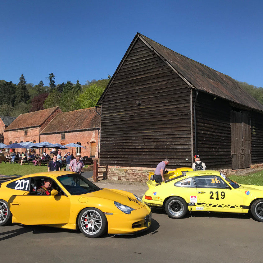 Shelsley atmosphere with Porsche old