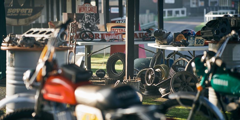 Shelsley Walsh Autojumble Trade Stands