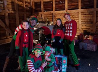 SANTA'S SPECIAL SHELSLEY BREAKFAST CLUB