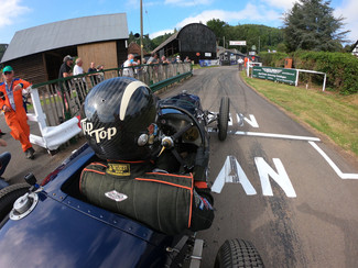 All smiles at a sunny Shelsley Walsh
