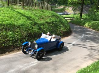 Bugatti Owners Club Visits Shelsley Walsh