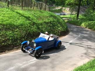 Bugatti Owners Club Visits Shelsley Walsh