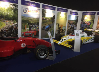 MAC at Race Retro Show in Stoneleigh
