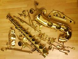 Saxophone Deconstruction