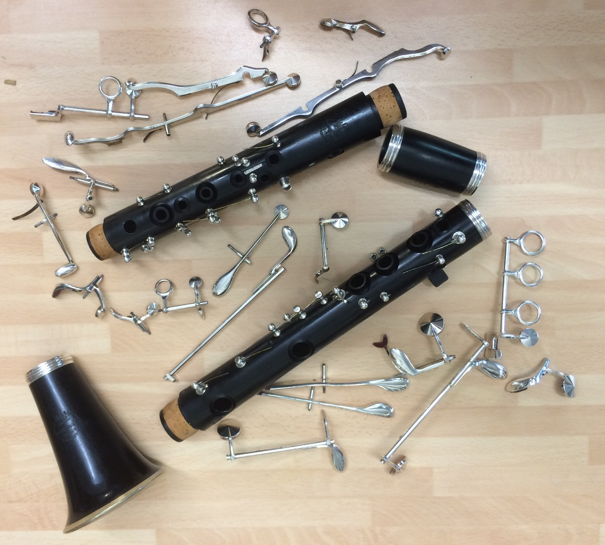 Clarinet Deconstruction