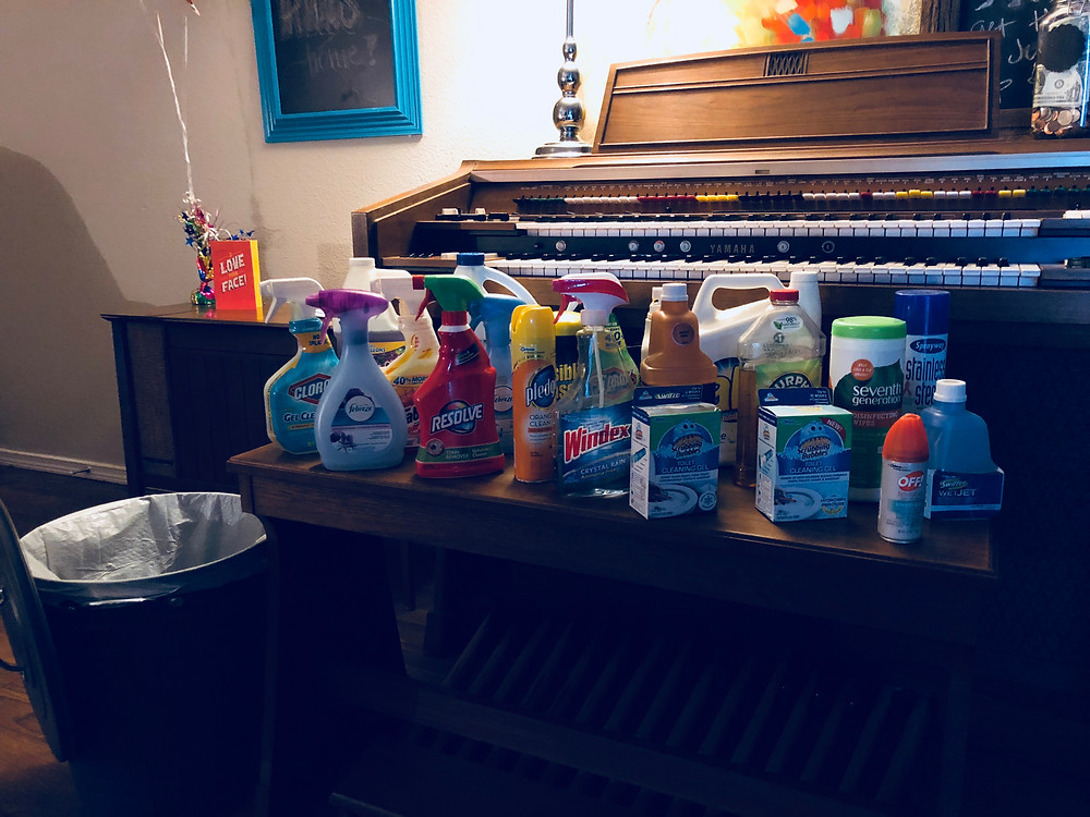 Household cleaning products proven damaging to lungs