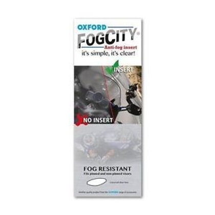 Oxford Fogcity insert clear OX900