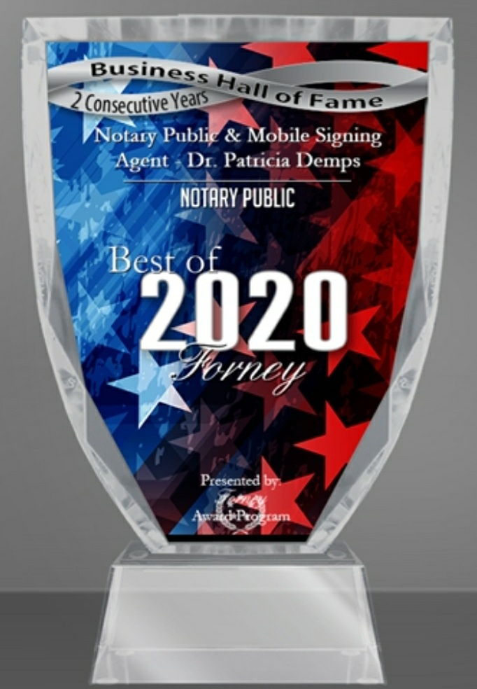 Best Of 2019/2020 Notary Public
