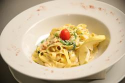 Pasta with Scampi og Reker