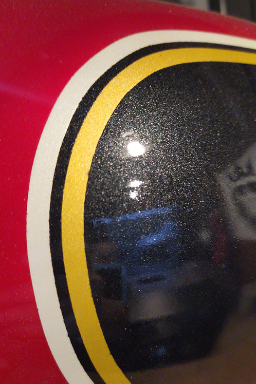 Pintura tanque personalizada