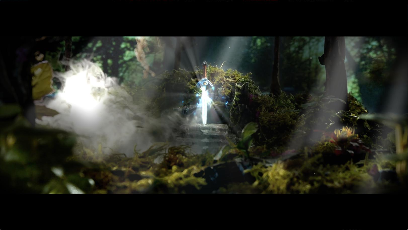 Magical Master Sword
