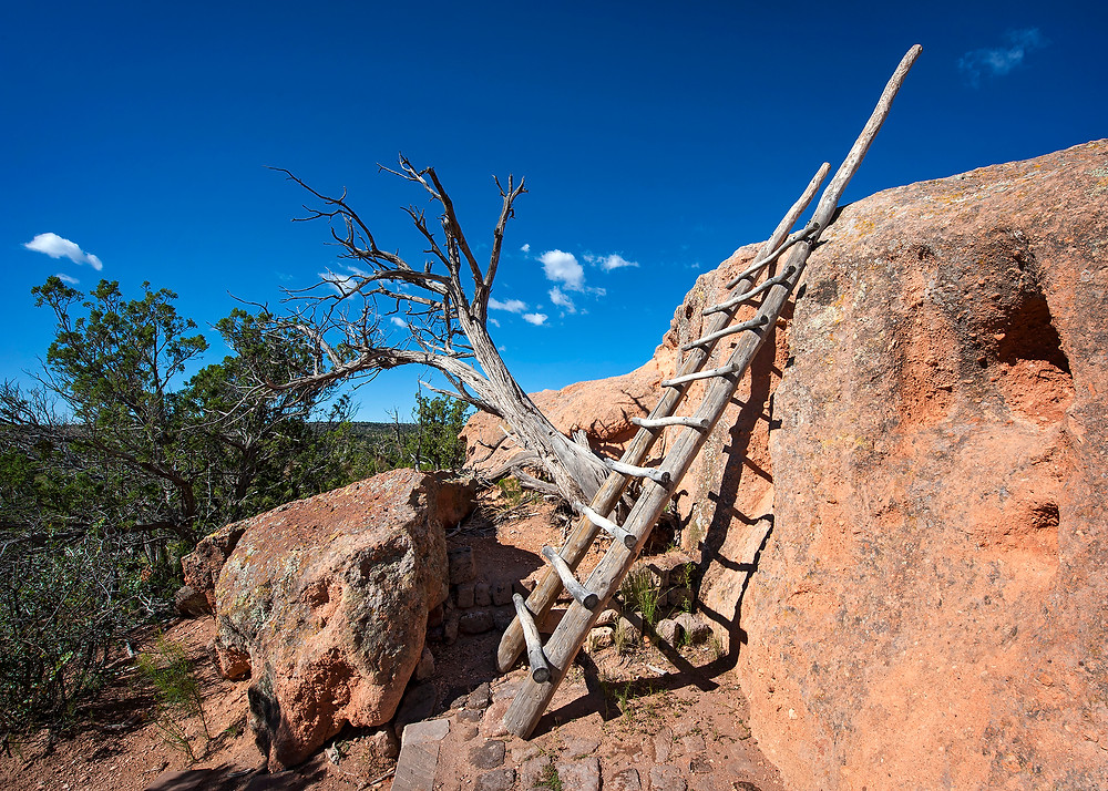 Tsanakawi is an ancient abandoned Native American Indian Puebleo