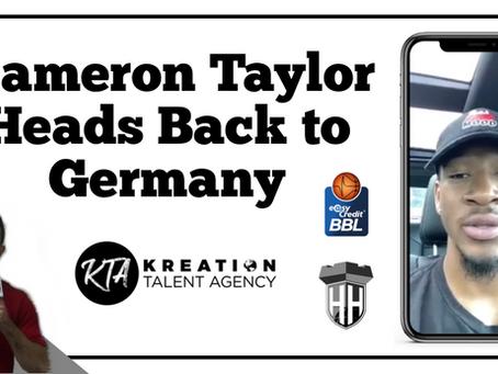 Kameron Taylor Heads Back to Germany!