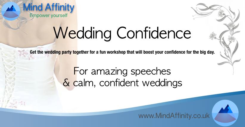 Wedding confidence