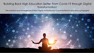 Building Back 'High Education' Better Fr