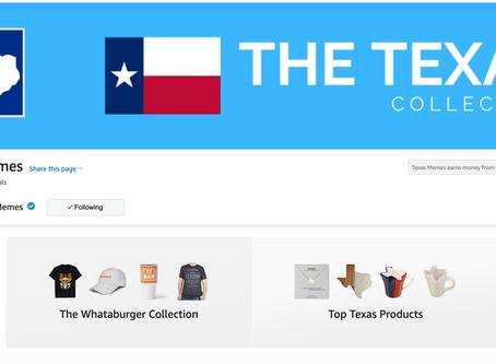 Texas Memes Opens Up an Online Store