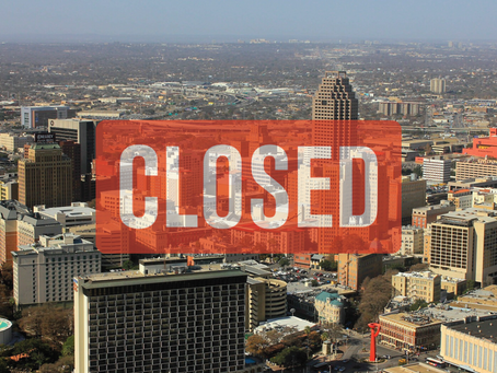The Mayor of San Antonio Just Closed Down All Bars Restaurant Dining Rooms, And Social Places