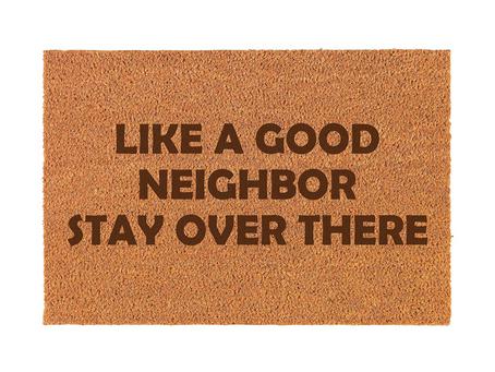 Doormat Goes Viral as People Stay Indoors