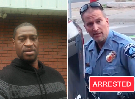 The Policeman Who Killed Houston Native George Floyd has been Arrested