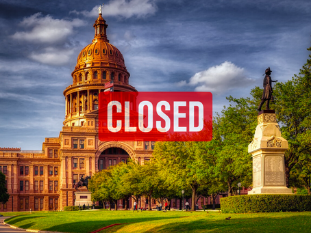 The Entire State of Texas Could be Closed Down Soon
