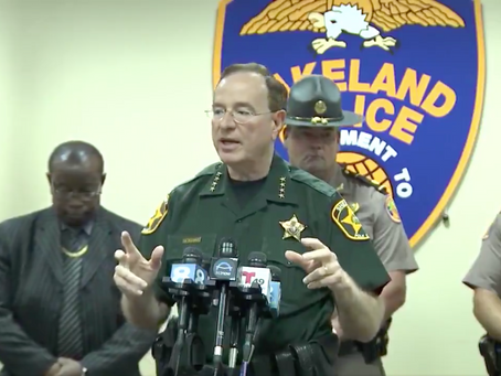 FL Sheriff Encourages Residents to Blow Rioters out of Suburban Houses with their Guns if they Loot