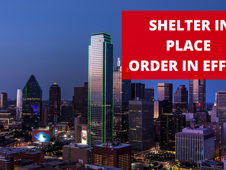 Dallas County Residents Ordered to Shelter in Place According to Judge