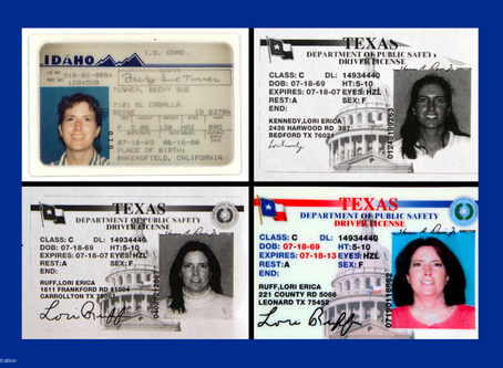Texas Woman had Multiple Identities - An Unsolved Mystery