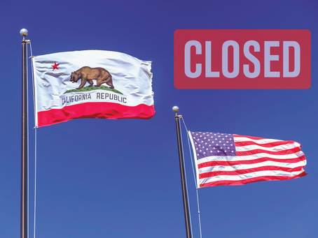 The Entire State of California is Now Ordered to Stay at Home