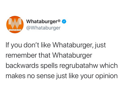 Whataburger's Funniest Tweets