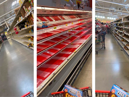 Grocery Stores in Texas Are Empty as People Panic Buy