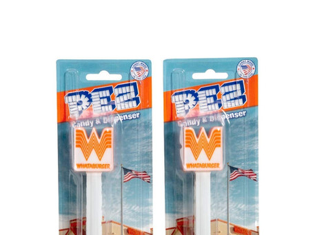 WHATABURGER PEZ- Yes! It's a thing!