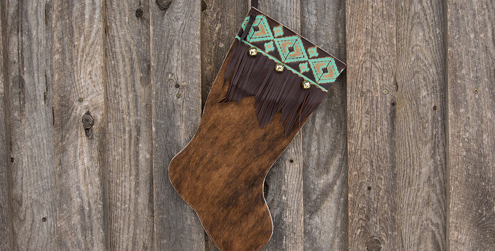 Red Horse Design Company: Large Christmas Stocking #10