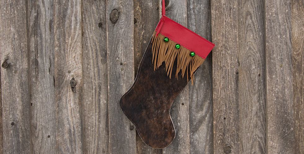 Red Horse Design Company: Large Christmas Stocking #6