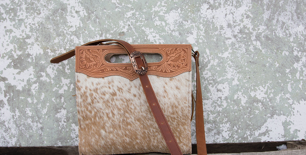 Red Horse Design Company: Tooled Handle Tote - #325