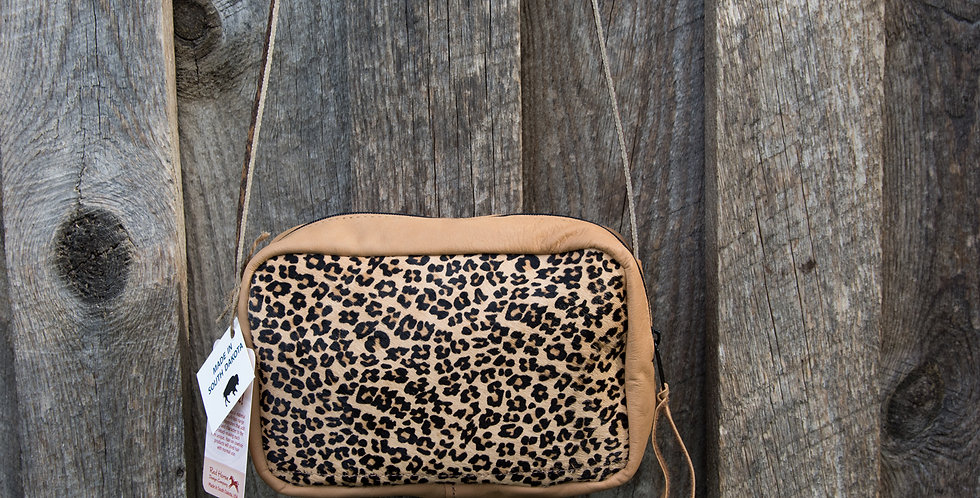 Red Horse Design Company: Small Cheetah Bag #312