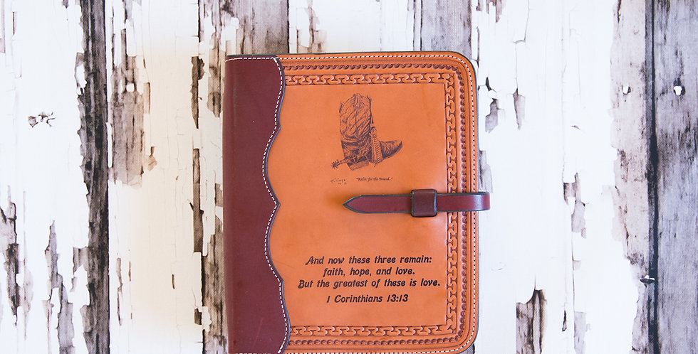 Badlands Collection:  Bible Cover #1