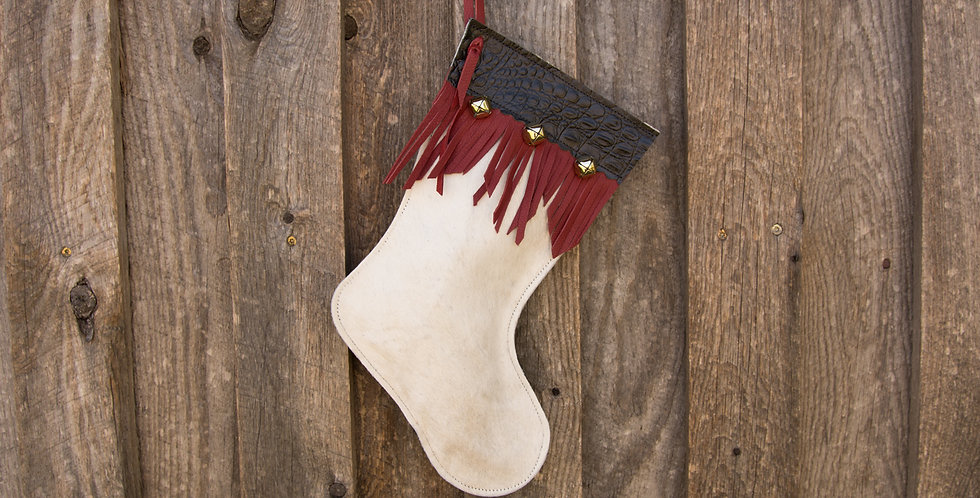Red Horse Design Company: Small Christmas Stocking #24