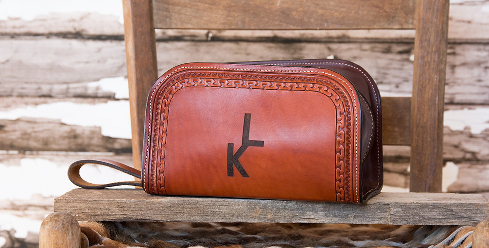 Badlands Collection: Shaving Bag #8
