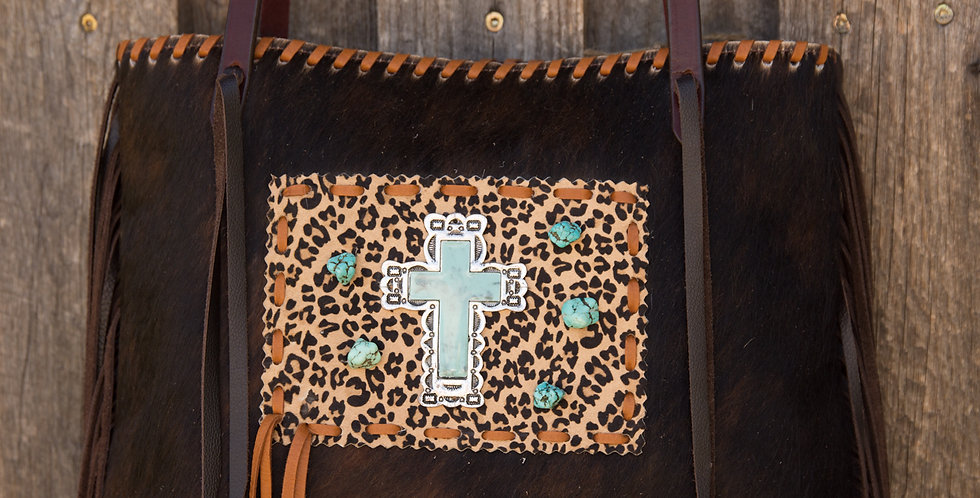 Red Horse Design Company: Cross and Stones Tote - #813