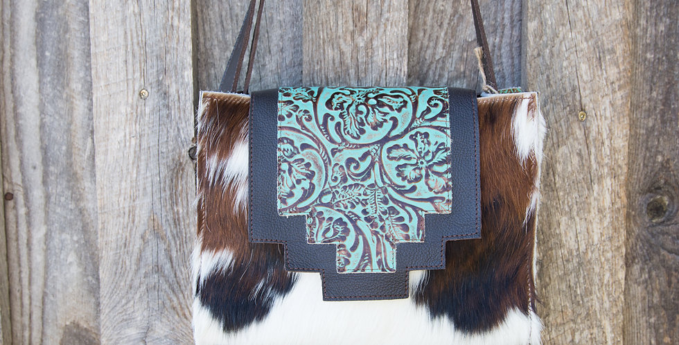 Red Horse Design Company: Turquoise SC Tote - #316