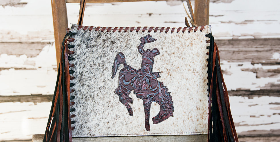 Red Horse Design Company: Small Bucking Horse Tote - #214
