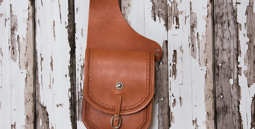 Badlands Collection: Saddle Bags #9Large