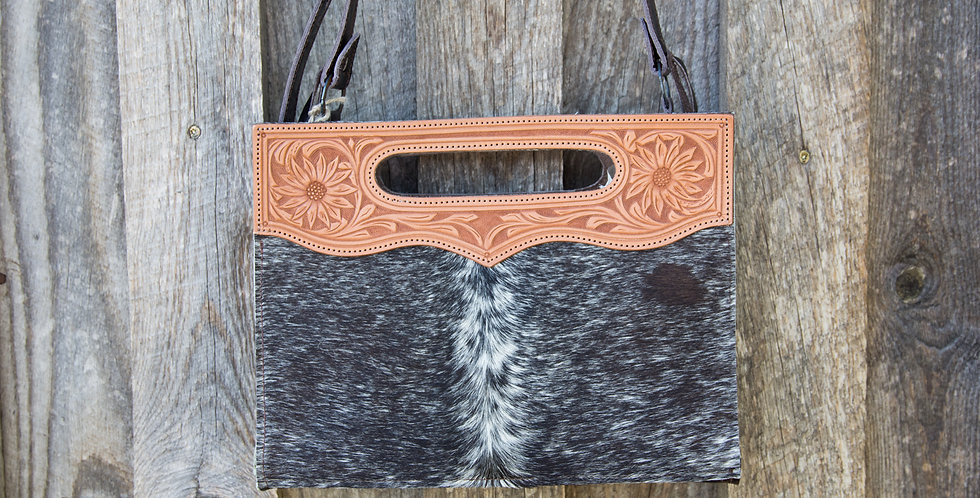 Red Horse Design Company: Tooled Handle Tote - #308